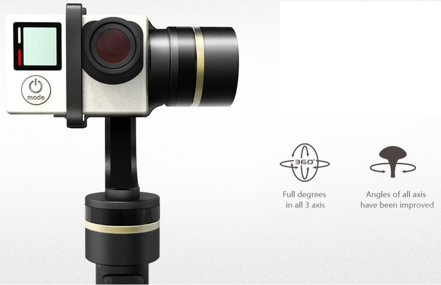 FeiyuTech FY-G4S 3-Axis Handheld Steady Gimbal for GoPro-p1