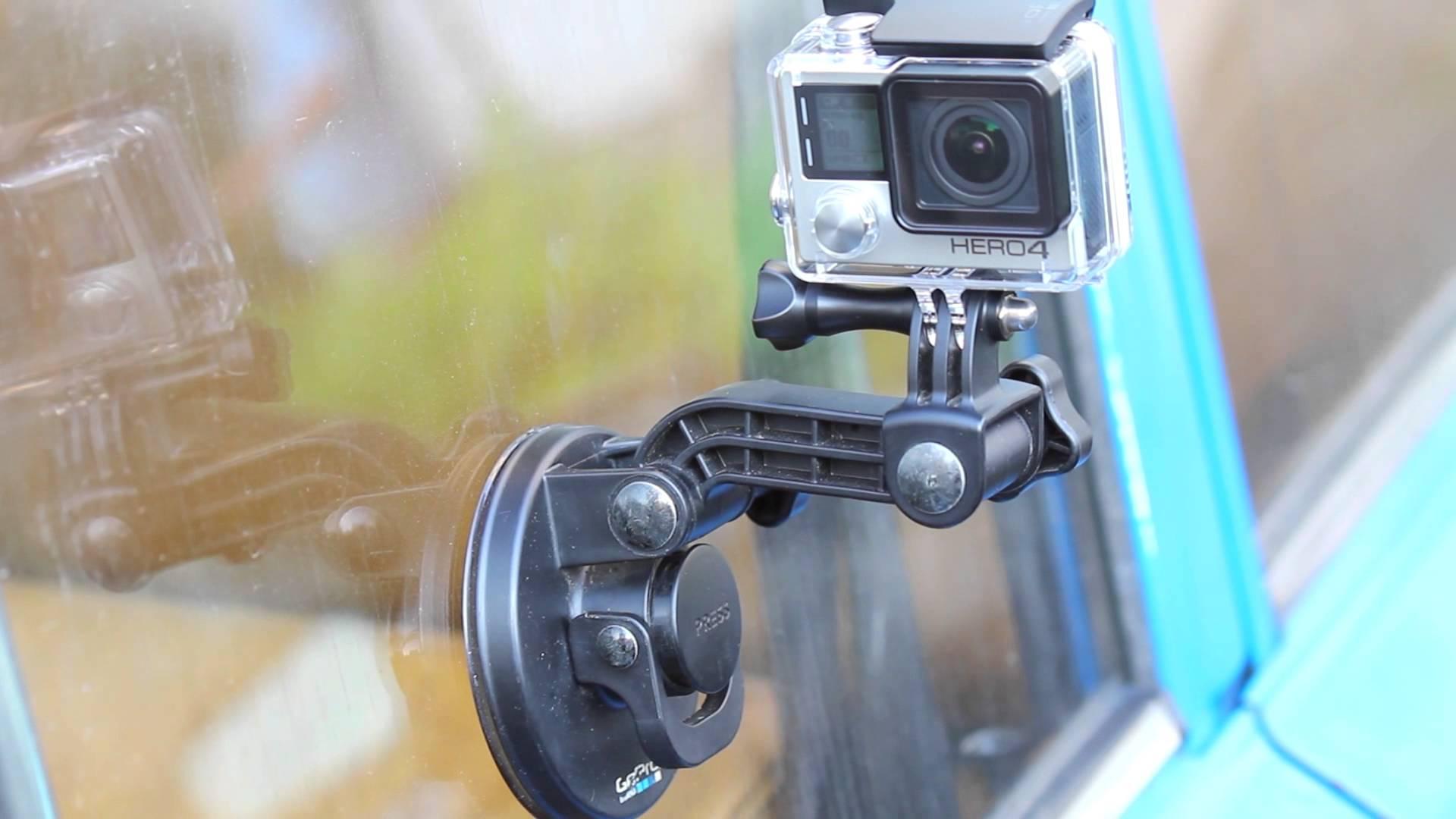 GoPro на присоске