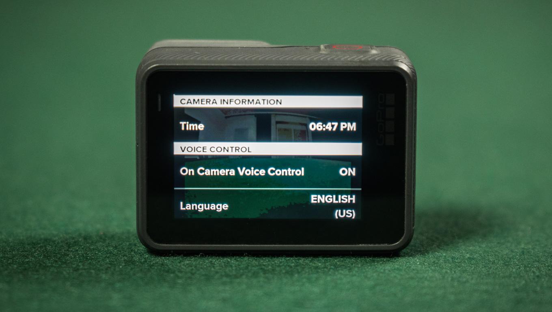 голосовое управление GoPro