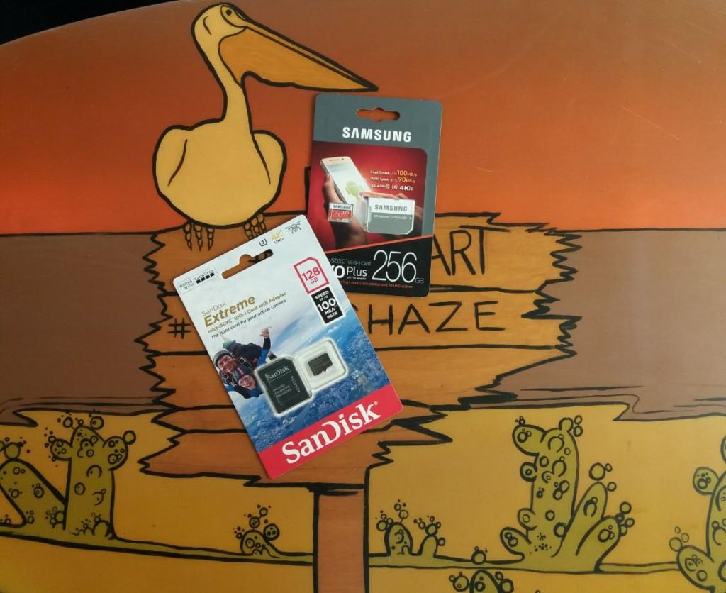 Карты памяти для GoPro SanDisk и SAMSUNG