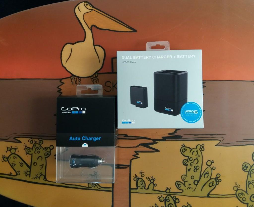 Автомобильные и сетевые зарядные устройства для GoPro