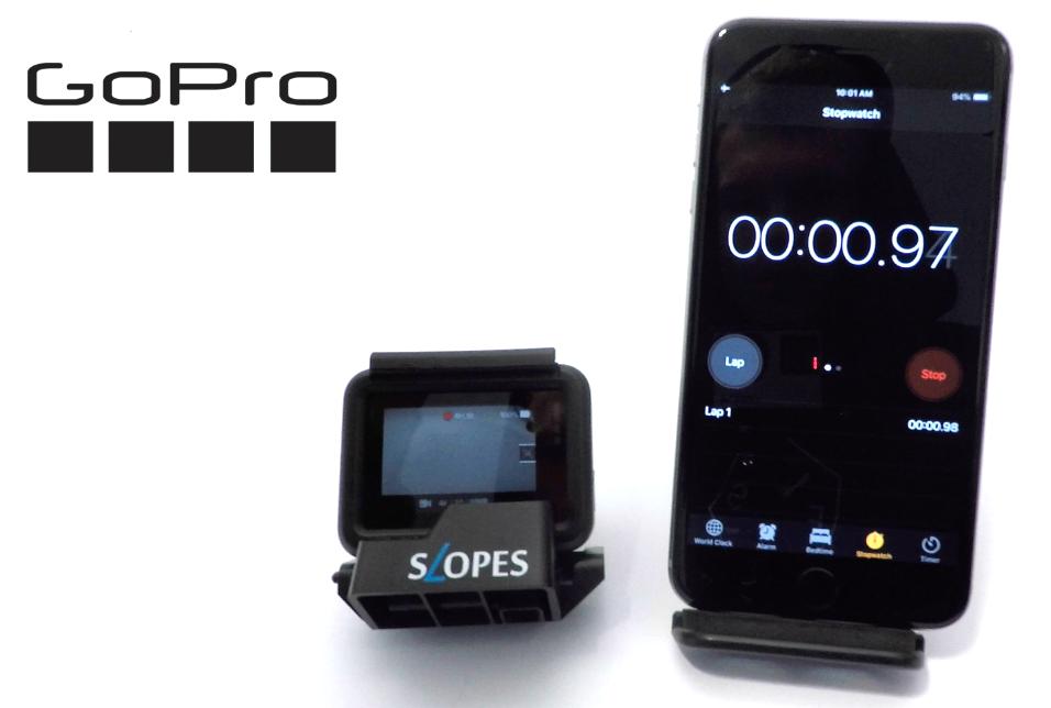 Тест батареи GoPro