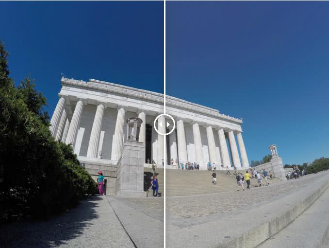 Цветность GoPro Colors против Flat