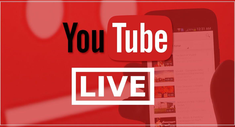 Как настроить YouTube Live