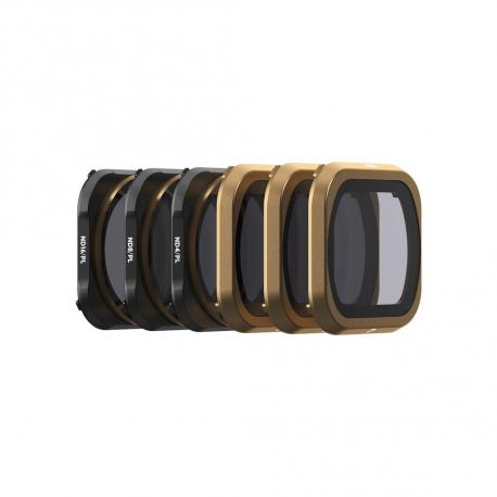 Полный набор ND и ND/PL фильтров PolarPro серии Cinema для DJI Mavic 2 Pro