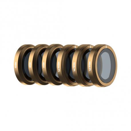 Полный набор ND и ND/PL фильтров PolarPro серии Cinema для DJI Mavic 2 Zoom